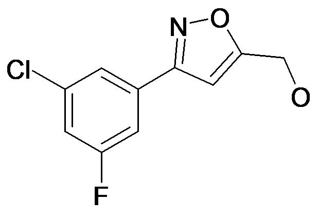 [3-(3-Chloro-5-fluoro-phenyl)-isoxazol-5-yl]-methanol