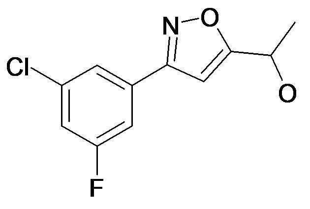1-[3-(3-Chloro-5-fluoro-phenyl)-isoxazol-5-yl]-ethanol