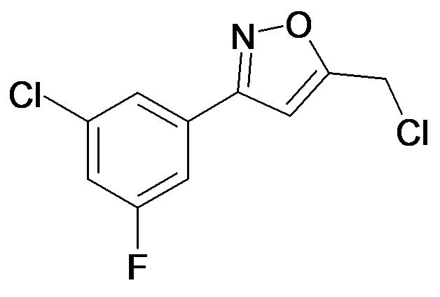 3-(3-Chloro-5-fluoro-phenyl)-5-chloromethyl-isoxazole