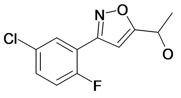 1-[3-(5-Chloro-2-fluoro-phenyl)-isoxazol-5-yl]-ethanol