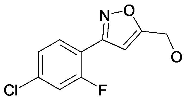 [3-(4-Chloro-2-fluoro-phenyl)-isoxazol-5-yl]-methanol