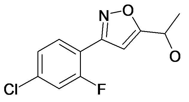 1-[3-(4-Chloro-2-fluoro-phenyl)-isoxazol-5-yl]-ethanol