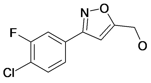 [3-(4-Chloro-3-fluoro-phenyl)-isoxazol-5-yl]-methanol