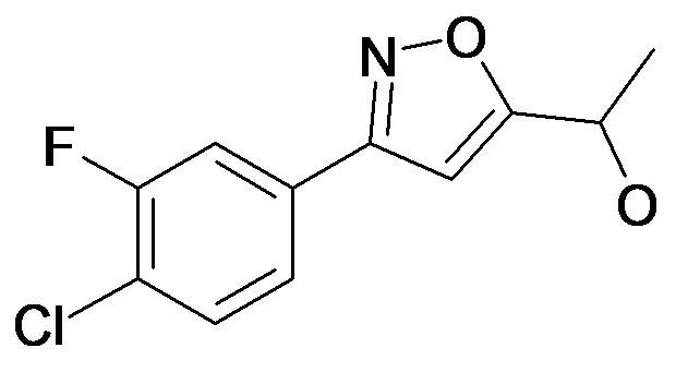 1-[3-(4-Chloro-3-fluoro-phenyl)-isoxazol-5-yl]-ethanol