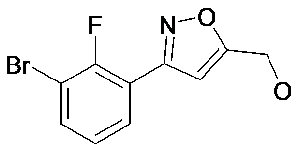 [3-(3-Bromo-2-fluoro-phenyl)-isoxazol-5-yl]-methanol