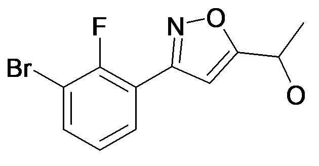 1-[3-(3-Bromo-2-fluoro-phenyl)-isoxazol-5-yl]-ethanol