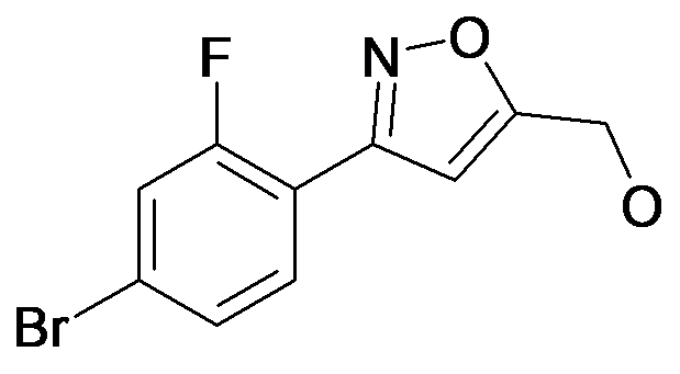 [3-(4-Bromo-2-fluoro-phenyl)-isoxazol-5-yl]-methanol