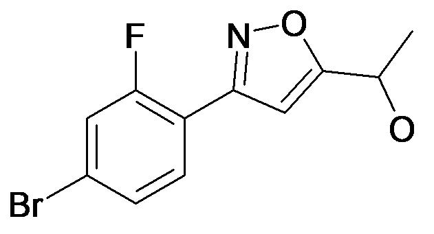 1-[3-(4-Bromo-2-fluoro-phenyl)-isoxazol-5-yl]-ethanol