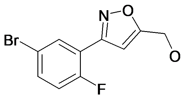 [3-(5-Bromo-2-fluoro-phenyl)-isoxazol-5-yl]-methanol