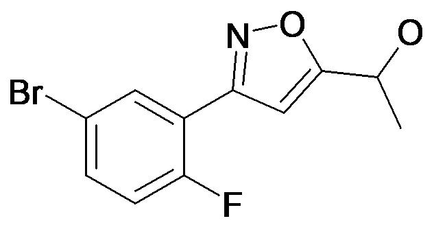 1-[3-(5-Bromo-2-fluoro-phenyl)-isoxazol-5-yl]-ethanol