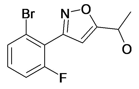 1-[3-(2-Bromo-6-fluoro-phenyl)-isoxazol-5-yl]-ethanol