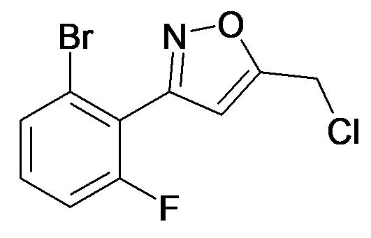 3-(2-Bromo-6-fluoro-phenyl)-5-chloromethyl-isoxazole