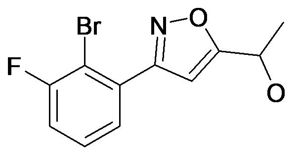 1-[3-(2-Bromo-3-fluoro-phenyl)-isoxazol-5-yl]-ethanol