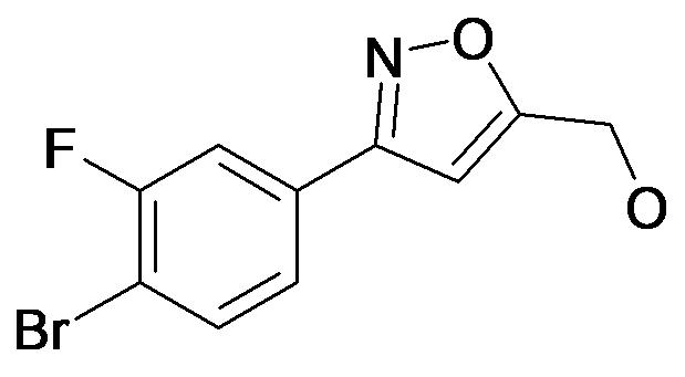[3-(4-Bromo-3-fluoro-phenyl)-isoxazol-5-yl]-methanol
