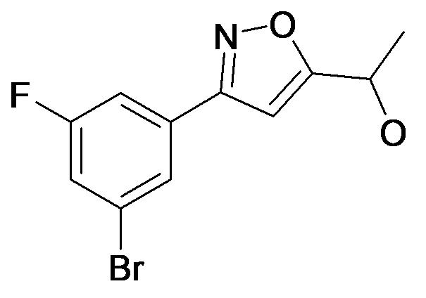 1-[3-(3-Bromo-5-fluoro-phenyl)-isoxazol-5-yl]-ethanol