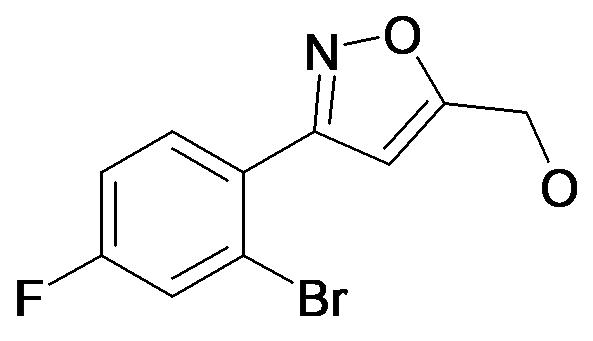 [3-(2-Bromo-4-fluoro-phenyl)-isoxazol-5-yl]-methanol