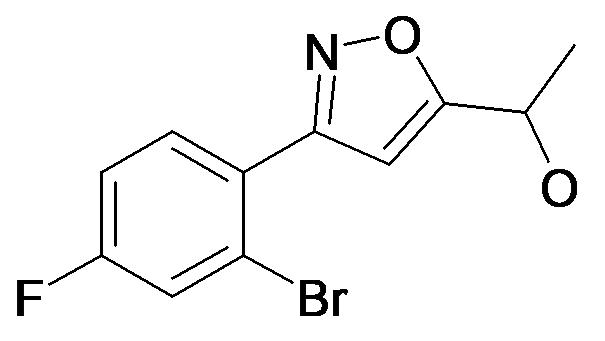1-[3-(2-Bromo-4-fluoro-phenyl)-isoxazol-5-yl]-ethanol