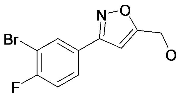 [3-(3-Bromo-4-fluoro-phenyl)-isoxazol-5-yl]-methanol