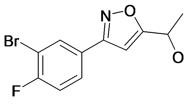 1-[3-(3-Bromo-4-fluoro-phenyl)-isoxazol-5-yl]-ethanol