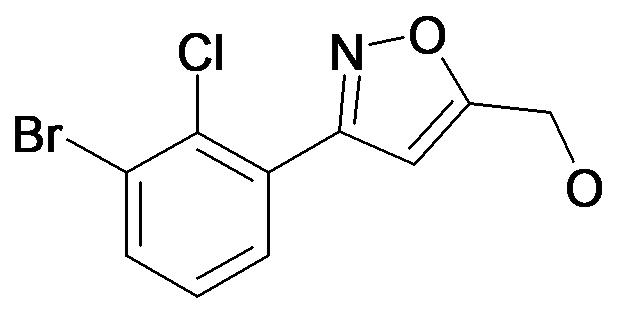 [3-(3-Bromo-2-chloro-phenyl)-isoxazol-5-yl]-methanol
