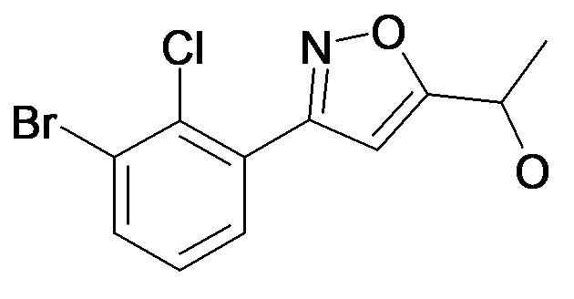 1-[3-(3-Bromo-2-chloro-phenyl)-isoxazol-5-yl]-ethanol