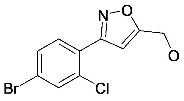 [3-(4-Bromo-2-chloro-phenyl)-isoxazol-5-yl]-methanol