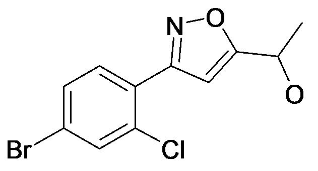 1-[3-(4-Bromo-2-chloro-phenyl)-isoxazol-5-yl]-ethanol