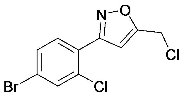 3-(4-Bromo-2-chloro-phenyl)-5-chloromethyl-isoxazole