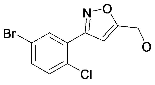[3-(5-Bromo-2-chloro-phenyl)-isoxazol-5-yl]-methanol