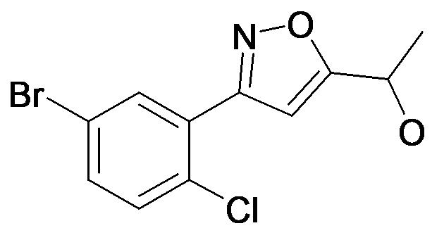 1-[3-(5-Bromo-2-chloro-phenyl)-isoxazol-5-yl]-ethanol