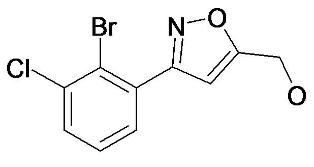[3-(2-Bromo-3-chloro-phenyl)-isoxazol-5-yl]-methanol