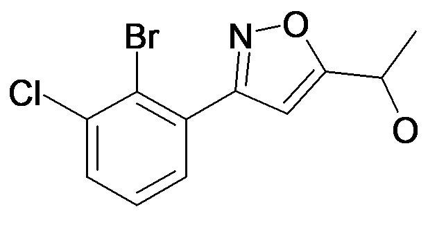 1-[3-(2-Bromo-3-chloro-phenyl)-isoxazol-5-yl]-ethanol