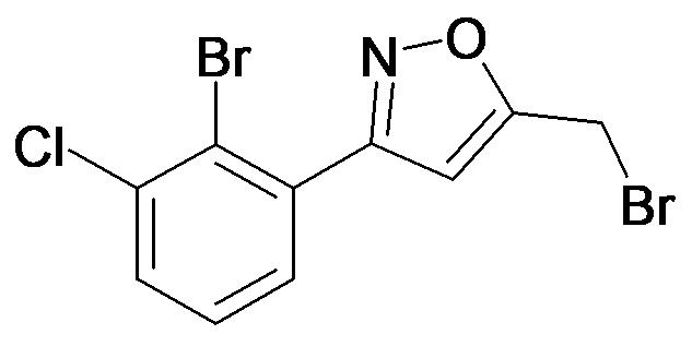 3-(2-Bromo-3-chloro-phenyl)-5-bromomethyl-isoxazole