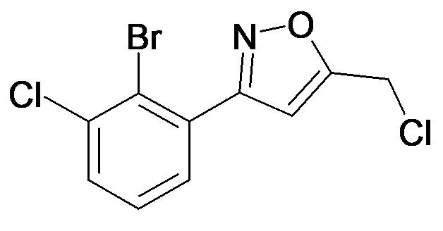 3-(2-Bromo-3-chloro-phenyl)-5-chloromethyl-isoxazole