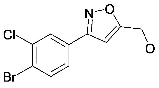 [3-(4-Bromo-3-chloro-phenyl)-isoxazol-5-yl]-methanol