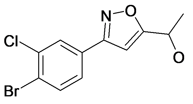 1-[3-(4-Bromo-3-chloro-phenyl)-isoxazol-5-yl]-ethanol