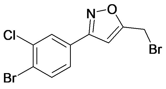 3-(4-Bromo-3-chloro-phenyl)-5-bromomethyl-isoxazole