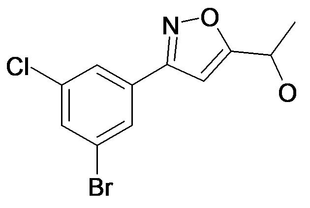 1-[3-(3-Bromo-5-chloro-phenyl)-isoxazol-5-yl]-ethanol
