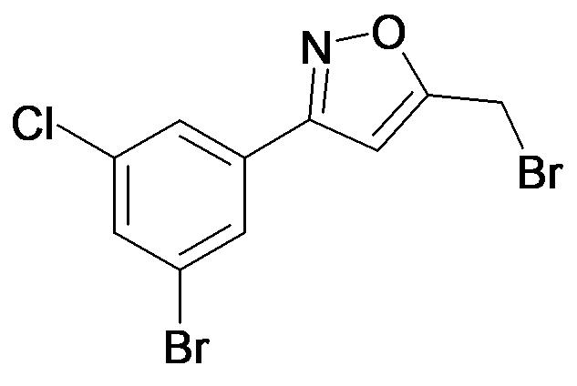 3-(3-Bromo-5-chloro-phenyl)-5-bromomethyl-isoxazole