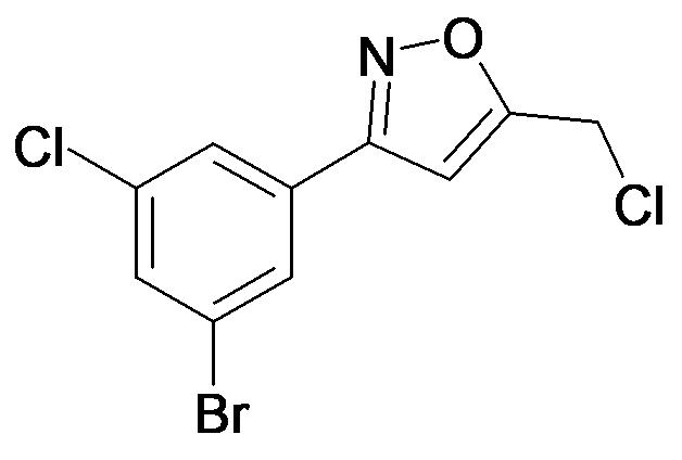 3-(3-Bromo-5-chloro-phenyl)-5-chloromethyl-isoxazole