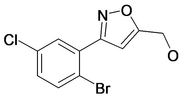 [3-(2-Bromo-5-chloro-phenyl)-isoxazol-5-yl]-methanol