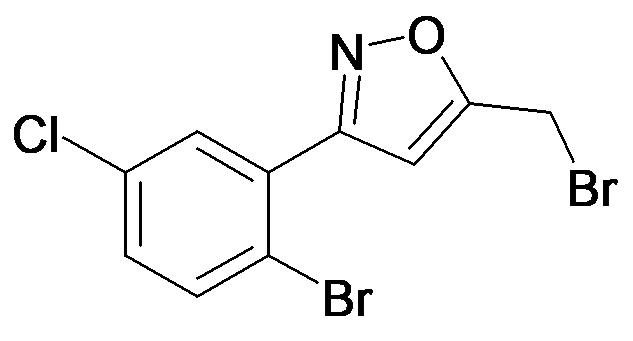 3-(2-Bromo-5-chloro-phenyl)-5-bromomethyl-isoxazole