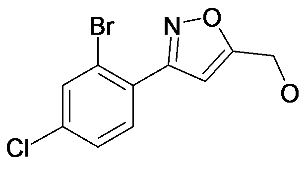 [3-(2-Bromo-4-chloro-phenyl)-isoxazol-5-yl]-methanol