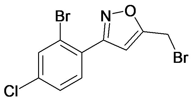 3-(2-Bromo-4-chloro-phenyl)-5-bromomethyl-isoxazole