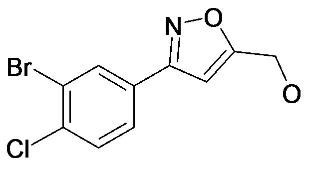 [3-(3-Bromo-4-chloro-phenyl)-isoxazol-5-yl]-methanol