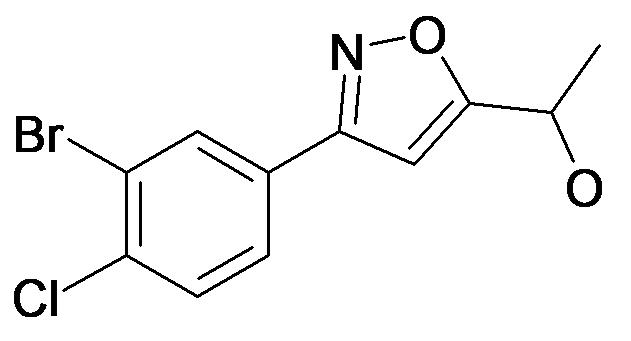 1-[3-(3-Bromo-4-chloro-phenyl)-isoxazol-5-yl]-ethanol
