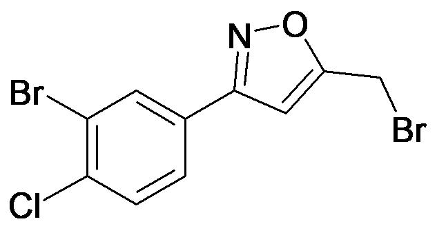 3-(3-Bromo-4-chloro-phenyl)-5-bromomethyl-isoxazole