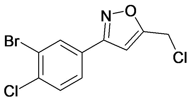 3-(3-Bromo-4-chloro-phenyl)-5-chloromethyl-isoxazole