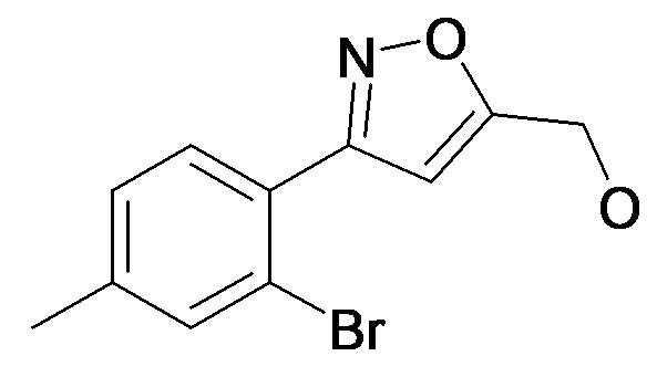 [3-(2-Bromo-4-methyl-phenyl)-isoxazol-5-yl]-methanol