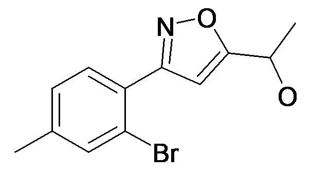 1-[3-(2-Bromo-4-methyl-phenyl)-isoxazol-5-yl]-ethanol